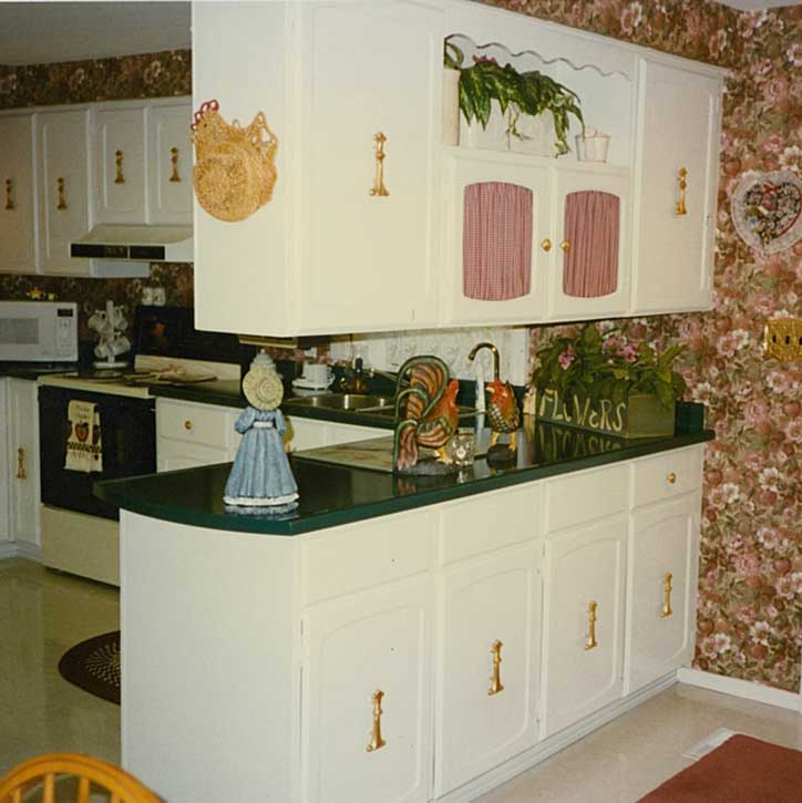 a refurbished kitchen